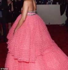 Rihanna's Grammys gown becomes an internet sensation | Daily Mail ... via Relatably.com