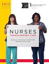 ummc nursing newsletter by umms issuu nursing annual report