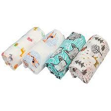 Happyy7 Muslin Swaddle Blankets for Newborn - 100 ... - Amazon.com