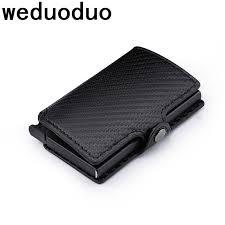 <b>Weduoduo New</b> Metal <b>Men</b> Card Holder RFID Aluminium <b>Credit</b> ...