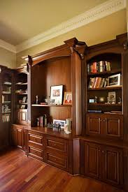 bay area executive home office design with mahogany custom cabinets traditional home office cabinet home office design