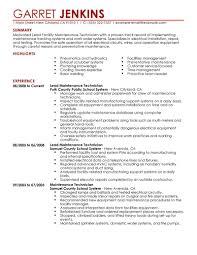 maintenance supervisor resume sample maintenance supervisor resume sample happy now tk