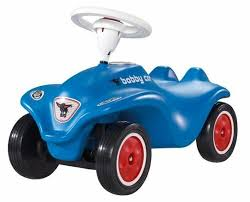<b>Каталка</b>-толокар <b>BIG New</b> Bobby Car Blue (56201) со звуковыми ...