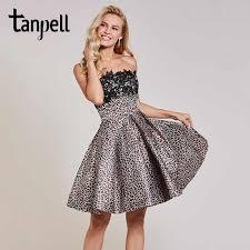 <b>Tanpell</b> short homecoming <b>dress</b> red draped sleeveless knee length ...