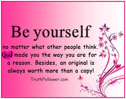 Beautiful Quotes About Being Yourself. QuotesGram via Relatably.com