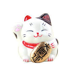 <b>Cute Lucky Cat</b> Piggy Bank Saving Money Box Cash Coin Case ...