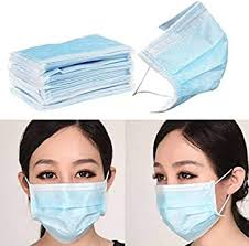 UNIK BRAND™ Nose <b>Mask</b>-3ply <b>Disposable</b> Mouth <b>Masks 100pcs</b> ...
