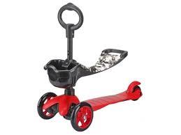 Купить <b>трехколесный самокат Moby Kids</b> 64965, красный по цене ...