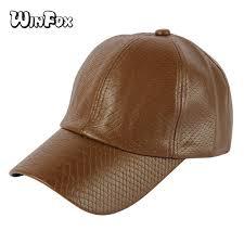 <b>Winfox Fashion</b> Hip Hop PU Leather Crocodile <b>Red</b> Brown Men ...
