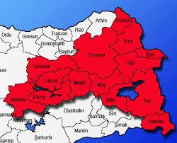 Image result for dogu anadolu haritasi