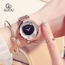 <b>Guou</b> Women'S Ladies Watch Fashion Luxury Bracelet Watches ...