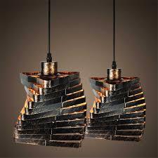 Creative Iron Gold cage cord <b>E27 Pendant Light</b> Retro Industrial ...