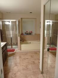 exotic granite bathroom tile full imagas cream that combined with glasses door and windows can add blog spa bathroom