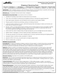 shipping resumes examples cipanewsletter cover letter shipping and receiving sample resume shipping and