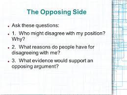 the argumentative essay introducing argument the counterclaim 6 the
