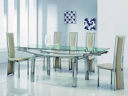 extendable gl dining table extending gl dining room table and chairs bedroomendearing small dining tables mariposa valley