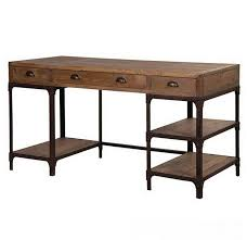 american country wood table computer desk minimalist combination of antique old wrought iron computer desk with american country wrought iron vintage desk