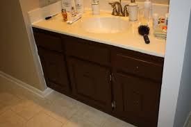 painting bathroom cabinets brown brown bathroom furniture