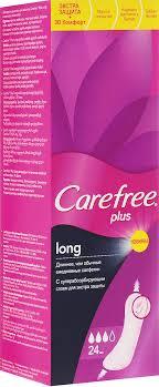 """<b>Carefree Plus</b> Ежедневные <b>прокладки</b> """"<b>Long</b>"""", 24 шт — купить в ..."""