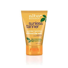 Alba Botanica Sunless Tanner Lotion, 4 oz.: Beauty - Amazon.com