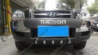 «Защитная <b>накладка бампера</b> Hyundai Tucson (2004-2010) (2 ...