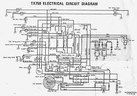 electrical diagrams   yamaha tx  forumelectrical circuit diagram