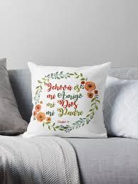 """Crown <b>flowers</b> chant 91"" Throw Pillow by <b>regalos</b>-co | Redbubble"