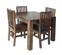 Solid Wood Dining Room Tables And Chairs Black Tufted Dining Chair Contemporary Dining Room Atmosphere