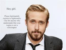 Feminist Ryan Gosling — Danielle Henderson via Relatably.com