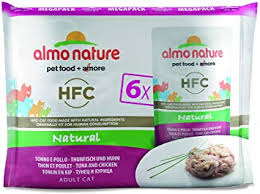 <b>Almo Nature Cat</b> Food <b>Classic</b> Pouch Value Pack Tuna and Chicken ...