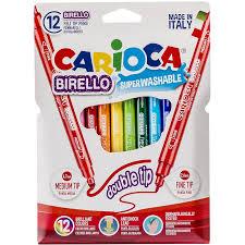 <b>Фломастеры Carioca Birello 12</b> цветов 42753: купить за 228 руб ...