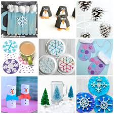 Easy Winter Kids Crafts That Anyone Can Make - Happiness is ...