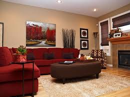 amazing red sofa living room ideas red microfiber sectional couches beige pattern fabric rug brown leather amazing red living room ideas