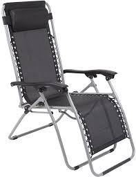 <b>Кресло</b>-<b>шезлонг</b> (черный) <b>GOGARDEN FIESTA 50306</b> - цена ...