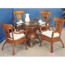 rattan kitchen chairs wheels