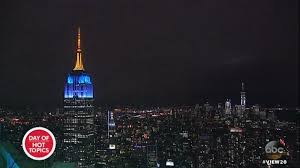 Empire State Building Honors ABC's View, Rejected Mother Teresa ...