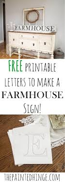 top ideas about printable letters printable printable letters to make a farmhouse sign