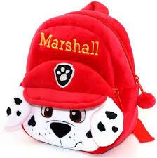 DZert Kids School Bag Marshall Soft Plush Cartoon ... - Flipkart.com
