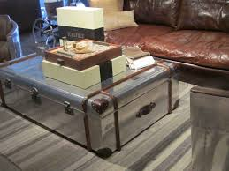 yellow leatherette small coffee table living room  trunk low coffee table dark brown leather sofa with pastel yellow sma