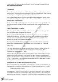 econ   international economics  thinkswap econ international trade essay
