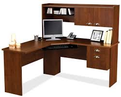 home office desk with storage wooden l shaped desk with hutch plus drawer and computer stand admirable home office desk
