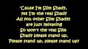 <b>Eminem</b> - The Real <b>Slim</b> Shady (Lyrics) [HD & HQ] - YouTube