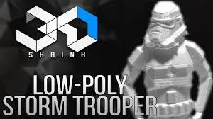 Low-Poly <b>Storm Trooper</b> 3D <b>Printing</b> Time-lapse - YouTube