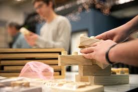 CCAD students work with Craftsmen for <b>Kids</b> to design <b>new wooden</b> ...