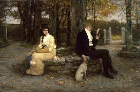 th century marriage manuals advice for young husbands mimi the waning honeymoon by george henry boughton 1878