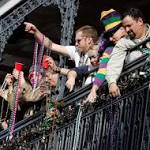 New Orleans pulls 46 tons of Mardi Gras beads from storm drains