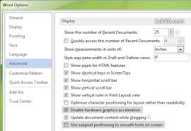 Disable Hardware Graphics Acceleration and Fix Blurred Font and ...