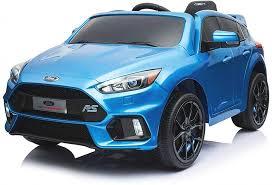 <b>Детский электромобиль Dake</b> Ford Focus RS Blue 12V 2.4G ...