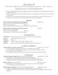 resume examples tech support resume summary computer specialist resume examples list skills examples gallery of technical support resume skills tech support