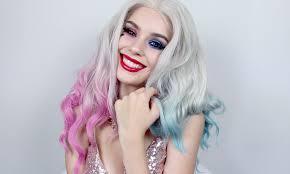 harley quinn club scene squad inspired makeup tutorial 2016 08 08